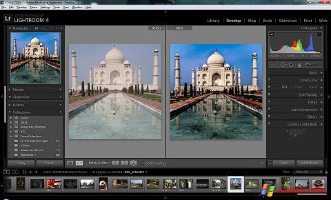 スクリーンショット Adobe Photoshop Lightroom Windows XP版