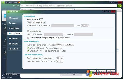 スクリーンショット MediaGet Windows XP版