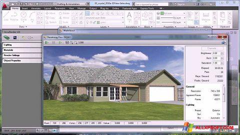 スクリーンショット AutoCAD Windows XP版
