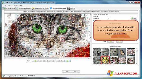 スクリーンショット Photo Collage Maker Windows XP版