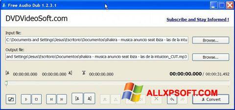 スクリーンショット Free Audio Dub Windows XP版