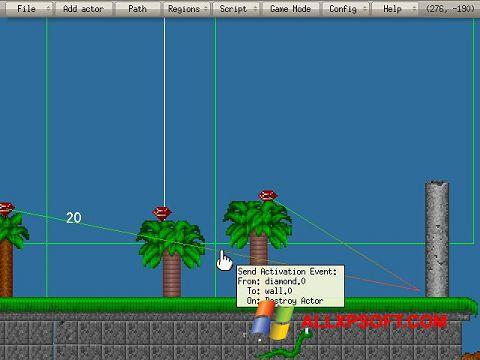 スクリーンショット Game Editor Windows XP版