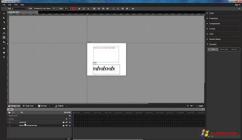 スクリーンショット Google Web Designer Windows XP版