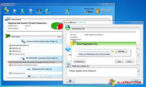 スクリーンショット Driver Detective Windows XP版