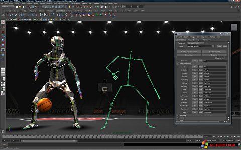 スクリーンショット Autodesk Maya Windows XP版