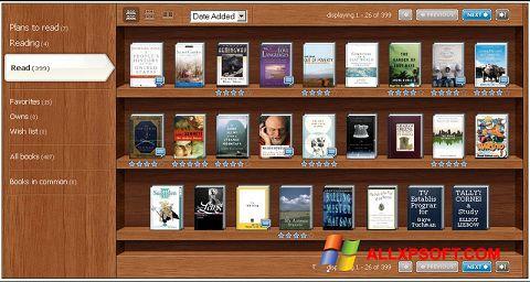 スクリーンショット Bookshelf Windows XP版