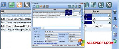 スクリーンショット VideoGet Windows XP版