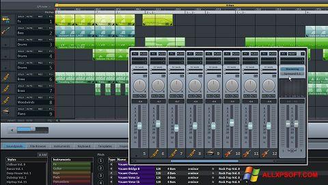 スクリーンショット MAGIX Music Maker Windows XP版