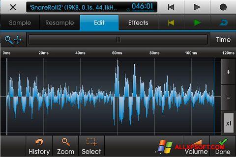 スクリーンショット NanoStudio Windows XP版
