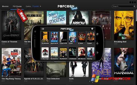 スクリーンショット Popcorn Time Windows XP版